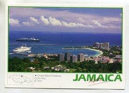 JAMAICA - AK 351639 Ocho Rios - Cruise Ship In Harbour - Jamaïque