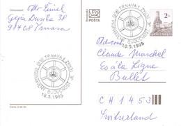 33035. Entero Postal TRNAVA (Slovaquia)  1995. Theme SCOUTS - Postales