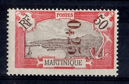 Martinique Maury N° 109 Neuf *. Signé. B/TB. A Saisir! - Martinique (1886-1947)