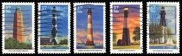 Etats-Unis / United States (Scott No.3787-90 - Southern Lighthouses) (o) Set - Verenigde Staten