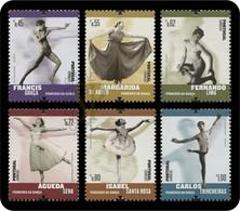 Portugal 2015 Pioneiros Da Dança Carlos Trincheiras Danse Ballet Danza Tanz - 1910-... République