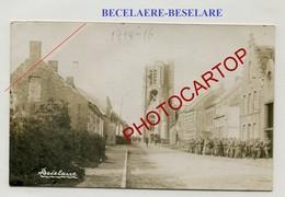 BECELAERE-BESELARE-CARTE PHOTO Allemande-Guerre 14-18-1 WK-BELGIEN-Flandern- - Zonnebeke