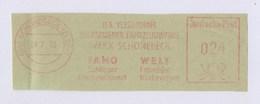 DDR AFS - SCHÖNEBECK, IFA Vereinigung Volkseigener Fahrzeugwerke FAMO WELT 28.7.50 - Machine Stamps (ATM)