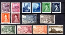 Espagne Belle Petite Collection Neufs ** MNH 1950/1954. Bonnes Valeurs. TB. A Saisir! - Collections