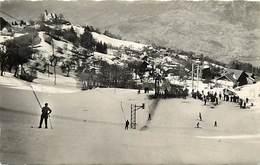 -dpts Div-ref-AK165- Haute Savoie - Mont Saxonnex - Téléski Des Combes - Téléskis - Skieurs - Ski - Sports D Hiver - - Francia