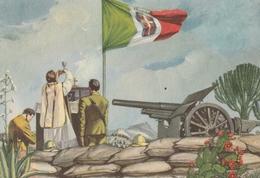 Cartolina  - Postcard / Viaggiata -   Sent -  Messa Al Campo In Africa Orientale. - Patriottisch
