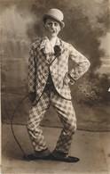 CPA Cirque Circus 1927 CLOWN AL Teatro Di Penne - Circus
