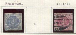 13150 VENEZUELA  N°19, 21 ° Armoiries   1873/75  B/TB - Venezuela