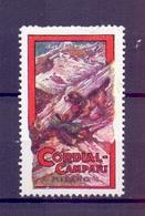 CINDERELLA ERINNOFILIA CORDIAL CAMPARI MILANO   (GIUGN1900B51) - Erinnofilia