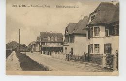 ALLEMAGNE - KEHL A. Rh - Landhauskolonie - Kehl