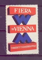 CINDERELLA ERINNOFILIA FIERA DI VIENNA 1930   (GIUGN1900B52) - Erinnofilia