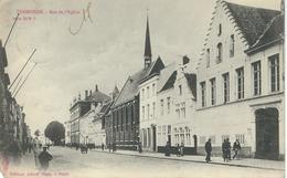 TERMONDE : Rue De L'Eglise - Cachet De La Poste 1901 - Dendermonde