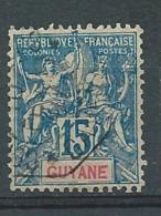 Guyane   -  Yvert N° 35 Oblitéré   -   Po 62631 - Französisch-Guayana (1886-1949)