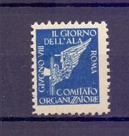 CINDERELLA ERINNOFILIA GIORNO DELL'ALA ROMA    (GIUGN1900B53) - Erinnofilia