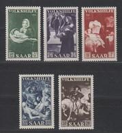 Saarland , Volkshilfe 1951 Postfrisch ( 65.-) - Germany
