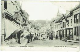 Geraardsbergen/Grammont. Grand'Rue Et Panorama. - Geraardsbergen