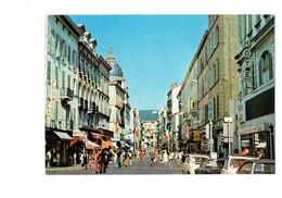 Cpm - 06 - Cannes - La Rue D'Antibes - Magasin Parfum LIP BATA Hotel - Cannes
