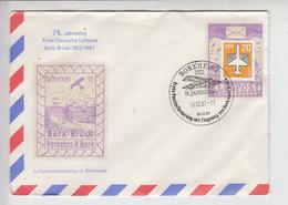 GERMANIA DDR 1987 - Annullo Speciale Illustrato - Aereo - Aerei
