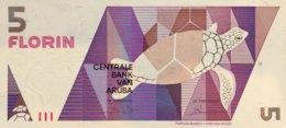Aruba 5 Florin, P-6 (1.1.1990) - UNC - Aruba (1986-...)