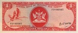 Trinidad 1 Dollar, P-30b (1977) - UNC - Sign.4 - Trinidad & Tobago