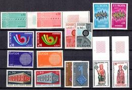 Andorre Séries Europa 1967/1974 Complètes Neufs ** MNH. TB. A Saisir! - Nuevos
