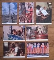 Lot De 8 Cartes Postales / Coutumes Métiers Traditions De Bretagne / CMTB / 22 CÔTES D'ARMOR - Professions