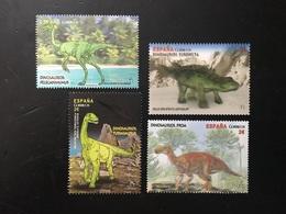 España 2016 Edi:ES 5063-5066 ** MNH Animales Prehistoricos. - Briefmarken