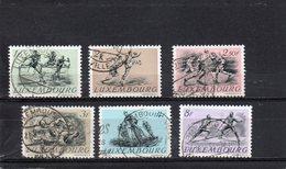 LUXEMBOURG 1952 O - Oblitérés