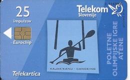 SLOVENIA - ATHENS OLYMPIC GAMES - CANOEING - Slovenia
