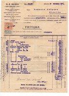 1921 YUGOSLAVIA, CROATIA, SPALATO, SPLIT, COMPANY INVOICE, FATTURA, G.A. MILISICH, FISKAL STAMP - Other