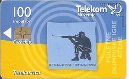 SLOVENIA - ATHENS OLYMPIC GAMES - SHOOTING - Slovénie