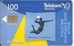 SLOVENIA - ATHENS OLYMPIC GAMES - HANDBALL - Slovenia