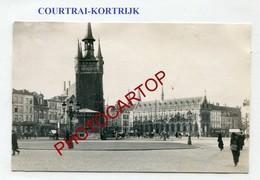 KORTRIJK-Courtrai-CARTE PHOTO Allemande-Guerre 14-18-1WK-BELGIQUE-BELGIEN-Flandern- - Kortrijk