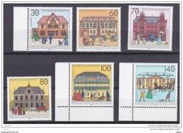 Duitsland 1991 Nr 1395/1400 **, Zeer Mooi Lot Krt 3712 - Collections (sans Albums)