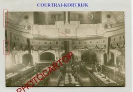 KORTRIJK-Courtrai-Foyer Du Soldat-CARTE PHOTO Allemande-Guerre 14-18-1WK-BELGIQUE-BELGIEN-Flandern- - Kortrijk