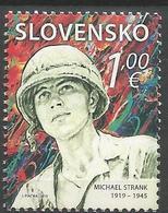 SK 2019-678 Michael Strank (1919 – 1945)  SLOVAKIA, 1 X 1v, MNH - Ungebraucht
