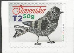 SK 2019-679 Traditional Slovak Tinsmithing  SLOVAKIA, 1 X 1v, Selstick MNH - Ungebraucht