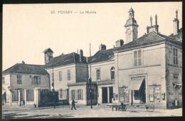 POISSY (78, Yvelines) : La Mairie (circulée), 2 Scans, Octroi - Poissy