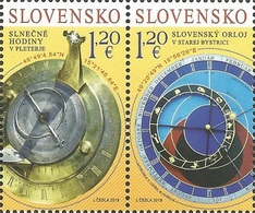 SK 2019-680-1 Joint Issue With Slovenia:  SLOVAKIA, 1 X 2v, MNH - Gemeinschaftsausgaben