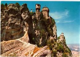REPUBBLICA DI SAN MARINO - PRIMA E SECONDA  TORRE  (RSM) - San Marino