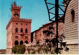 REPUBBLICA DI SAN MARINO - PALAZZO DEI REGGENTI E STATUA DELLA LIBERTA'  (RSM) - San Marino