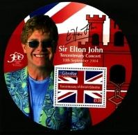 GIBRALTAR - 2004  ELTON JOHN  MS  MINT NH - Gibilterra
