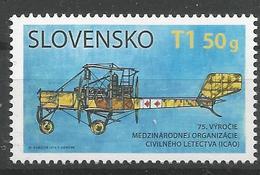 SK 2019-682 International Civil Aviation Organisation (ICAO) SLOVAKIA, 1 X 1v, MNH - Ungebraucht