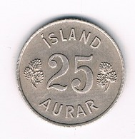 25 AURAR 1954  IJSLAND /4521/ - Islande