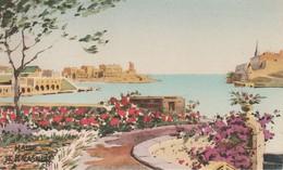 Malte  Quarantine  Harbour - Malte