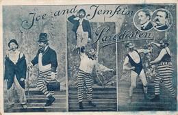 CPA Cirque Circus PARODISTEN CLOWN Borgerhout 1910s - Circus