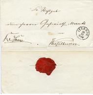 (Lo3295) Altdeutschland Brief  St. Itzehoe N. Wesselburen - Alemania