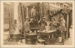Ansichtskarte  Militär/Propaganda 1.WK (Erster Weltkrieg) Feldküche 1916 - Guerre 1914-18