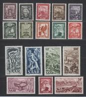 Saarland , Nr 272 - 88 Postfrisch ( 130.-) - Germany