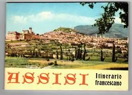 LIBRETTO - ASSISI 1964 - ITINERARIO FRANCESCANO - 65 PAGINE MISURE 16.5 X 12 (PERUGIA UMBRIA) - Collectors Manuals